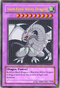 dark eyes silver dragon